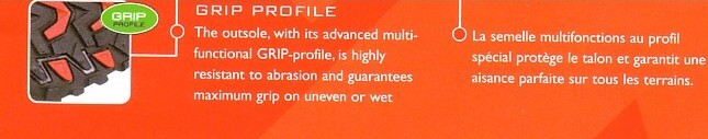 Grip profile