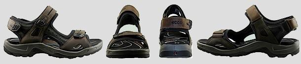 Vue ecco sandale men semelle epaisse 1